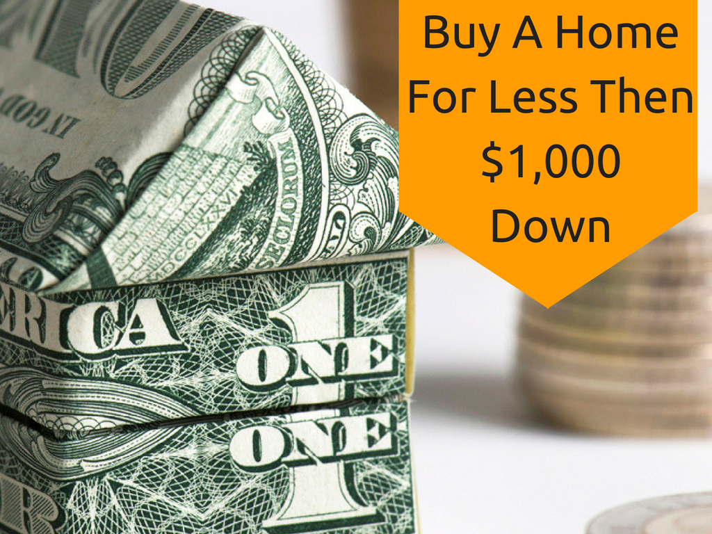 buy a home for no money down