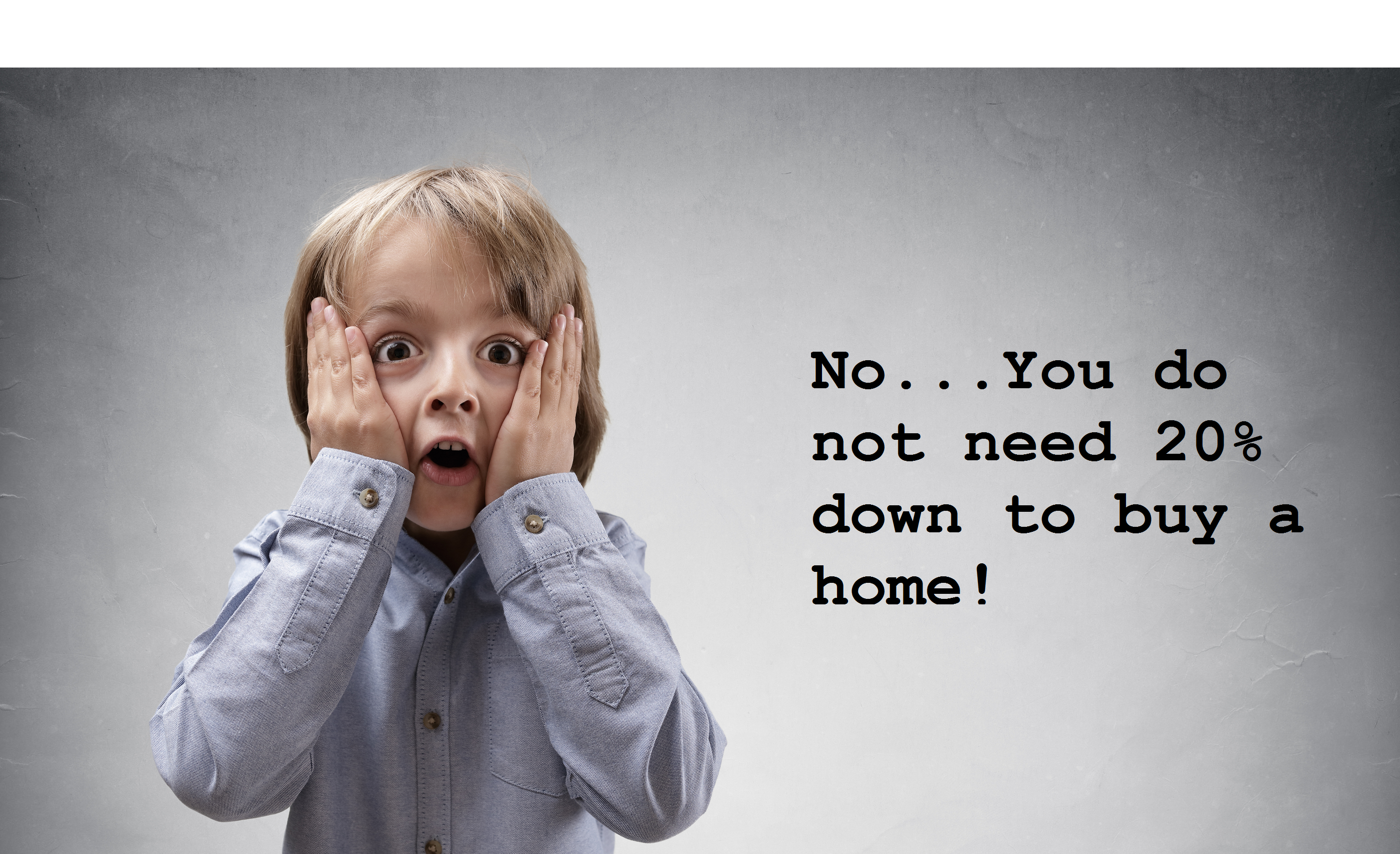 do you need 20% down in order to buy a home