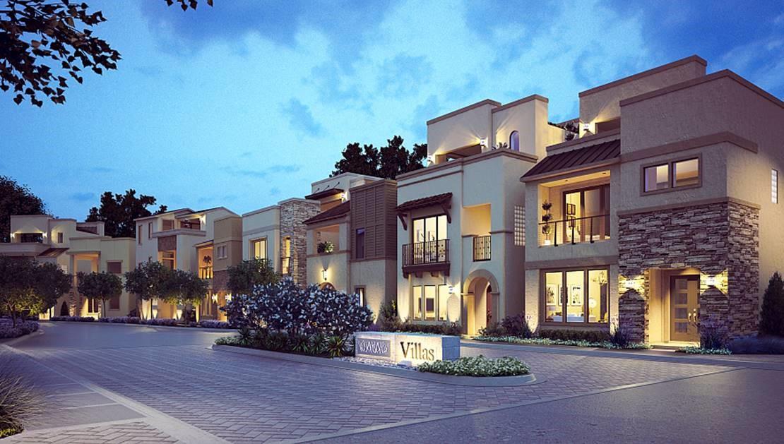 Villas at Legacy West Near Deerfield Plano Texas
