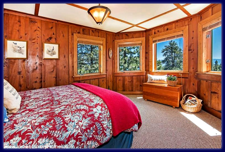 Check out the exquisite guestroom of this luxury home for sale in Incline Village NV.