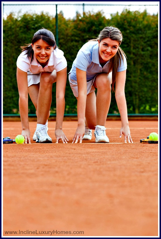 Move to Incline Village and enjoy the perk of living among many tennis enthusiasts!