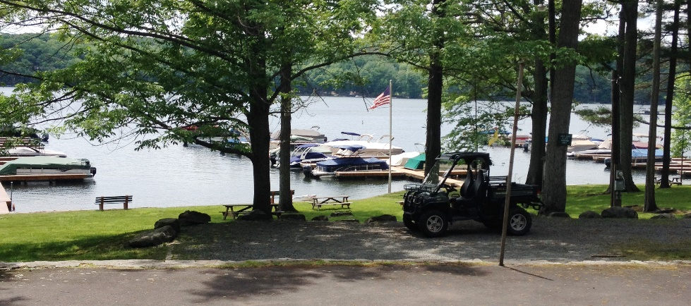 Woodland Hills in Lakeville - Boat Slips on Lake Wallenpaupack