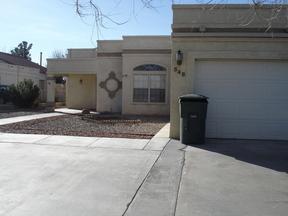 Single Family Home For Rent: 548 Desert Lakes Rd.