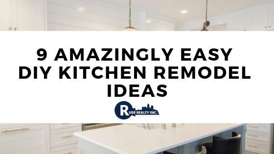 9 Amazingly Easy DIY Kitchen Remodel Ideas | JASON RUDE ...