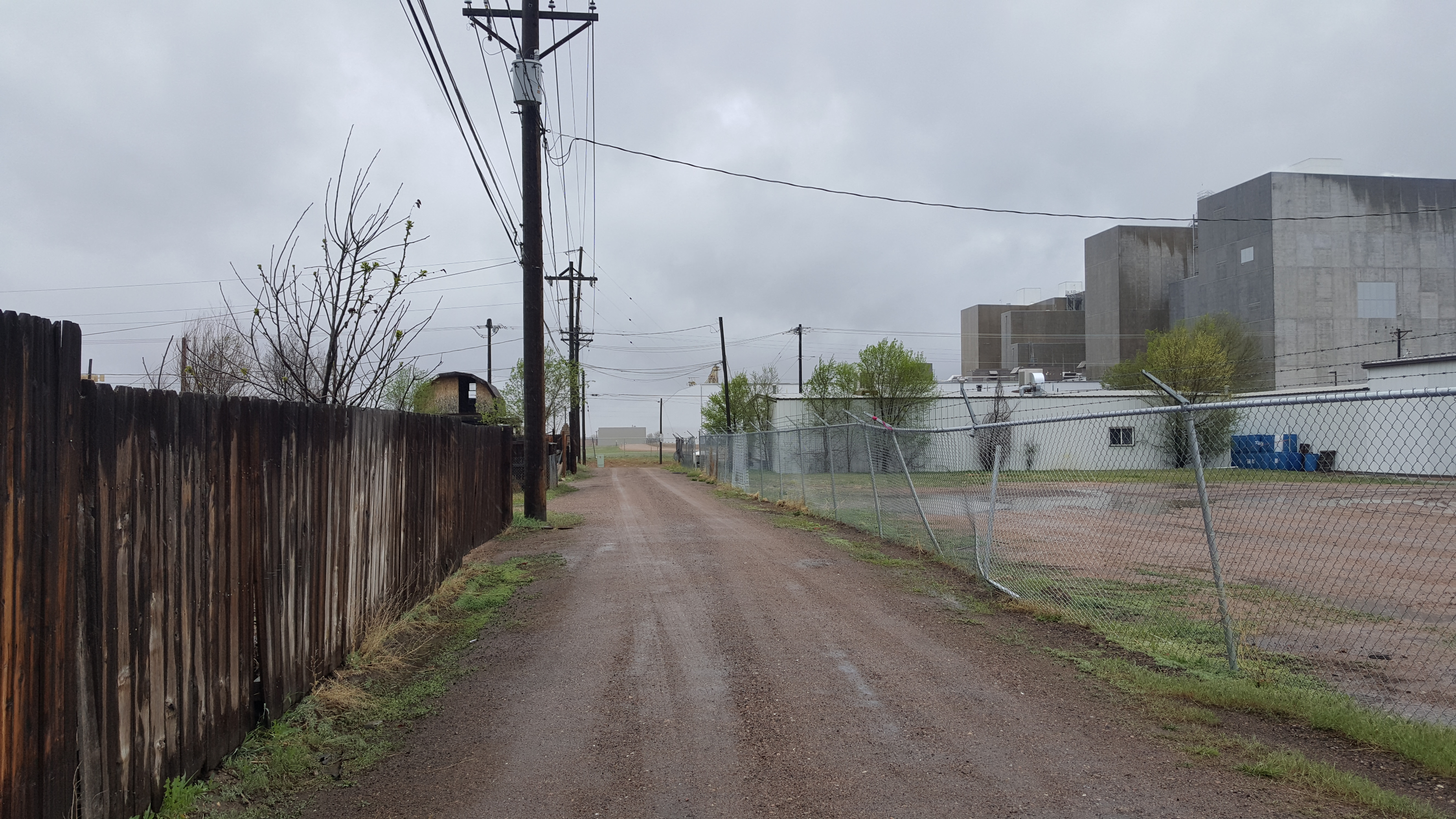 Fixer Upper with Alley Access Zoned Industrial and Residential