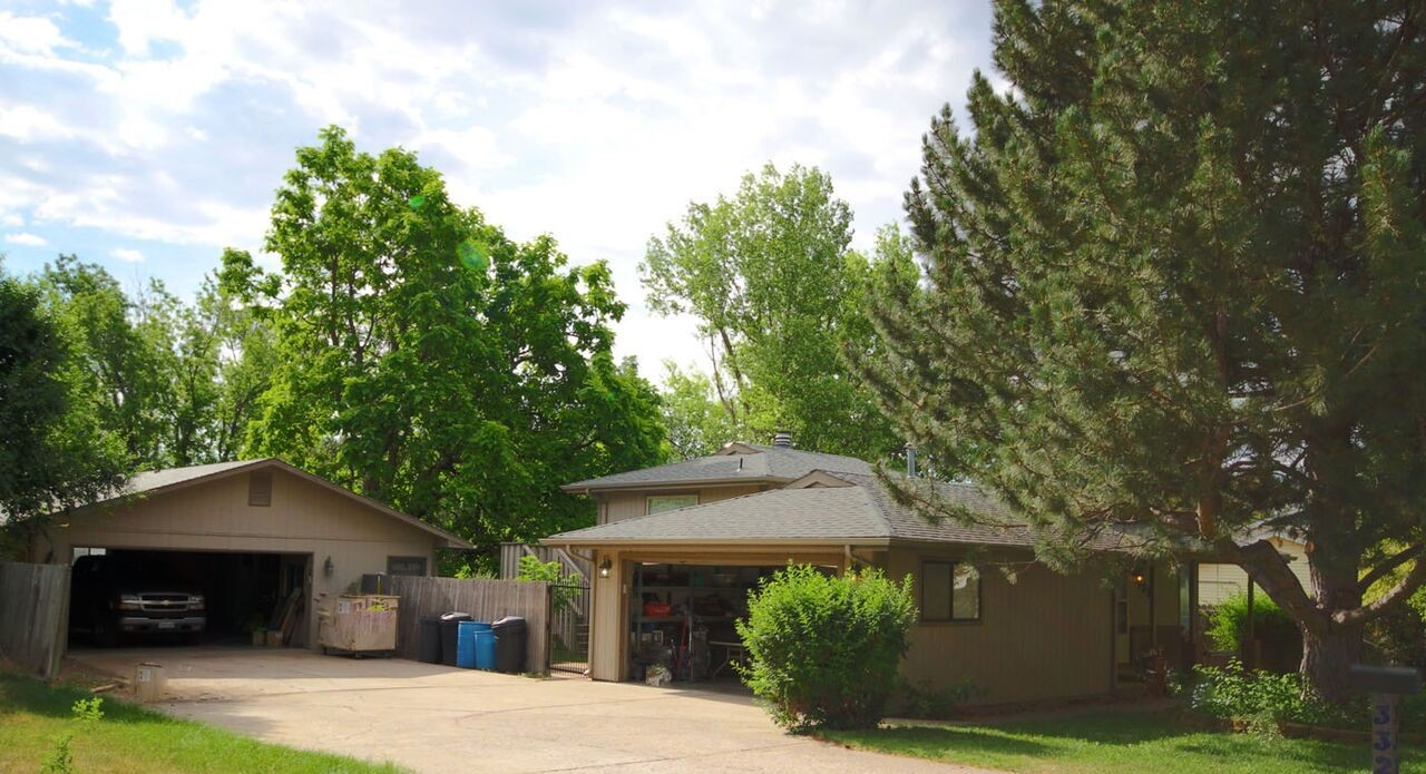 Great HOME FOR SALE located 3320 34th Ave. Pl., Greeley, CO with RV Parking, 1000SF Detached Garage and 2 Car Attached Garage to this 2048 home in Greeley, CO