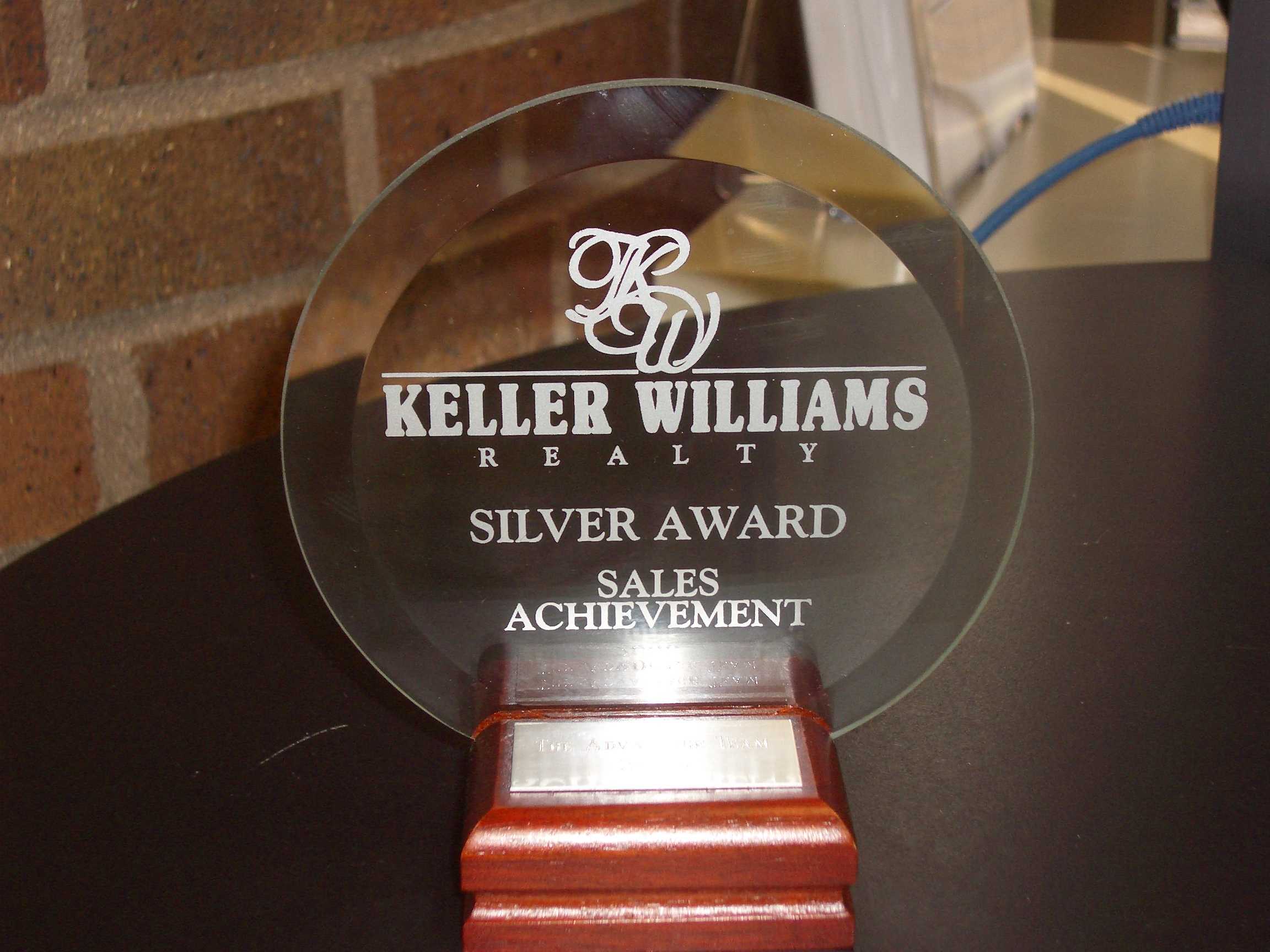Sales Achievement Silver Award