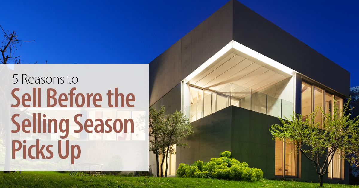 5 Reasons To Sell Before Season Picks Up