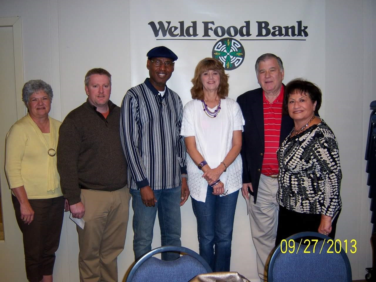 Weld Food Bank Donation