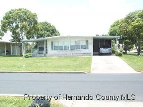 Brooksville FL Residential Sold: $45,000