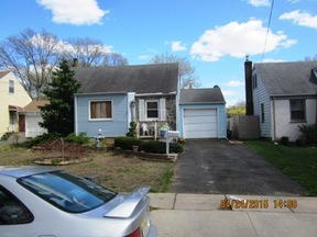Rahway City NJ Single Family Home SOLD: $135,000