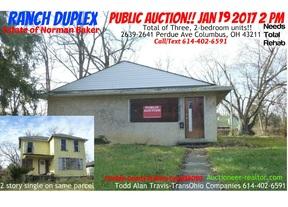 Multi Family Home Sold: 2639 Perdue Avenue