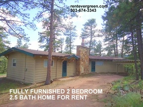 Evergreen CO Single Family Home For Rent: $2,400 Twenty Four Hundred