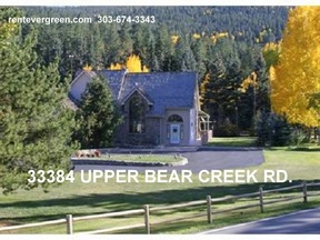 Evergreen CO Rental For Rent: $3,850 Thirty Eight - fifty