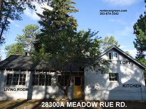 Evergreen CO Single Family Home For Rent: $1,475 Fourteen seventy-five