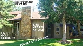 Condo/Townhouse For Rent: 2378 Hearth Drive #14