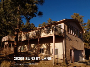 Evergreen CO Single Family Home For Rent: $2,550 Twenty Five - fifty