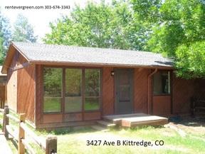Kittredge CO Condo/Townhouse For Rent: $1,285 Twelve Eighty-five