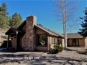 Evergreen CO Single Family Home For Rent: $2,650 Twenty Six - fifty