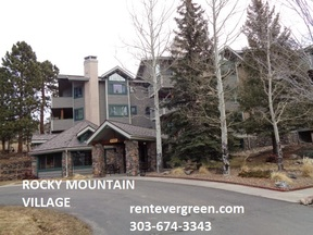 Evergreen CO Condo/Townhouse For Rent: $1,650 Sixteen fifty