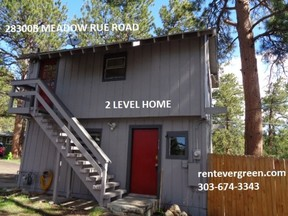 Evergreen CO Single Family Home For Rent: $1,325 Thirteen twenty-five