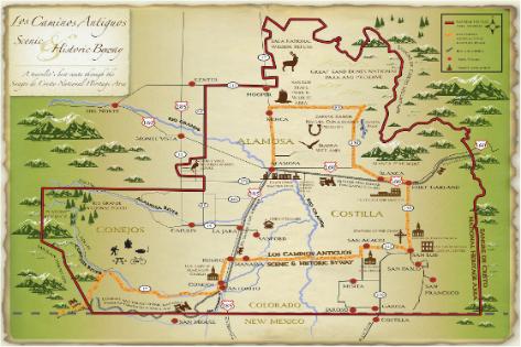 Colorado Scenic Byways | SLV Scenic Byway | Los Caminos ...