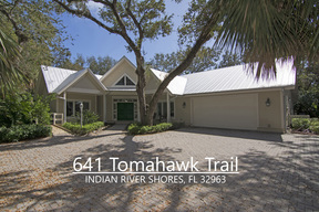 Indian River Shores FL Residential For Sale: $779,000