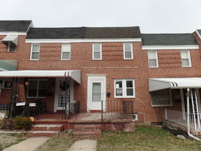 Baltimore MD Single Family Home Sale Pending: $24,000