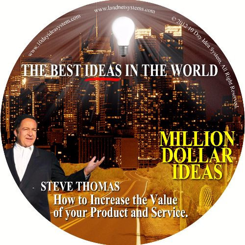 07 CD MILLION DOLLAR IDEA