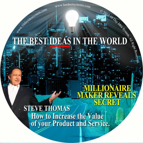 06 CD MILLIOMAIRE MAKER REVEALS SECRET