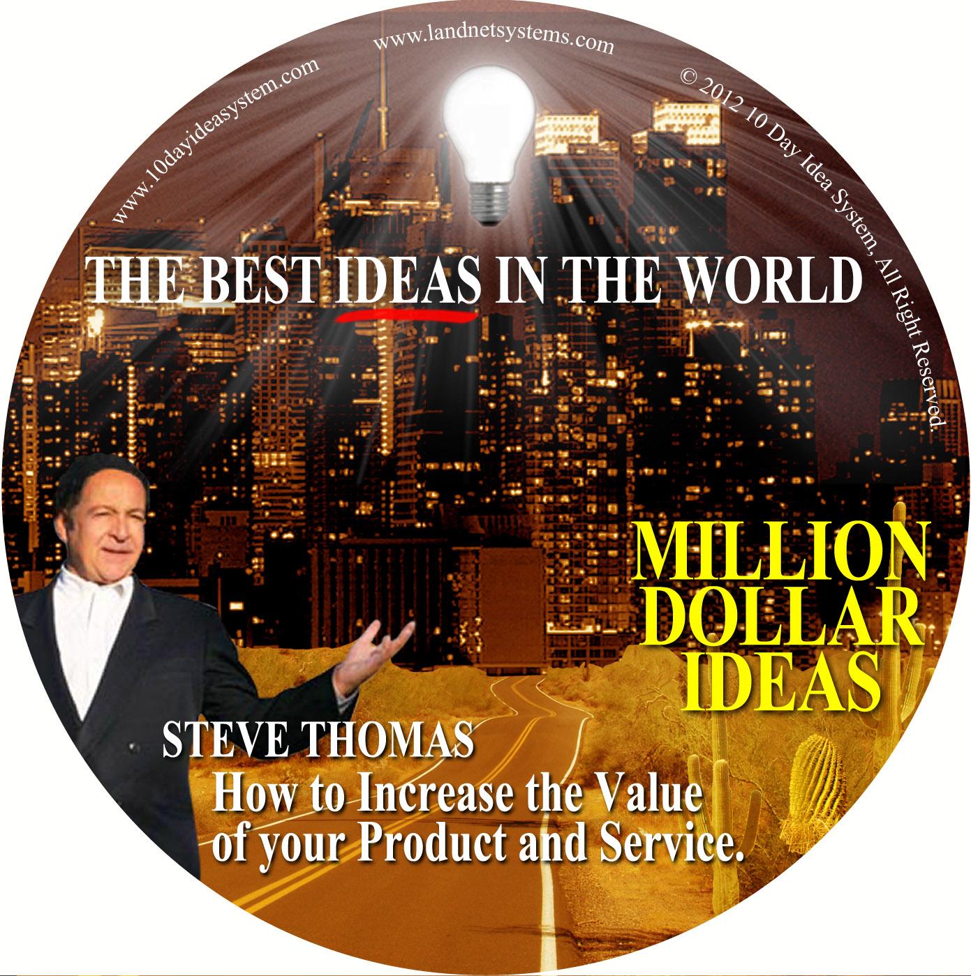07 CD MILLION DOLLAR IDEA