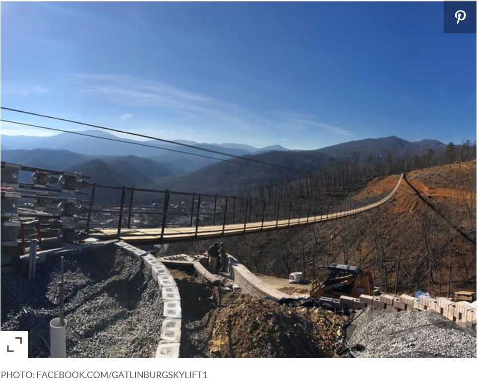 Skylift opens in Spring 2019