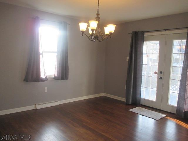 3606 Broad Avenue Extension Dining room pic