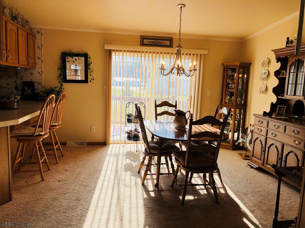 407 Paul Revere Road, Duncansville Dining room pic