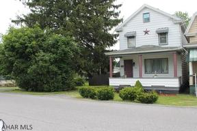 Altoona PA Single Family Home Sold: $65,900