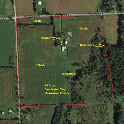 Homes for Sale in Shiawassee County, MI