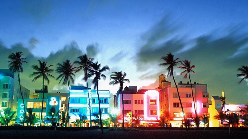 Miami Beach North South