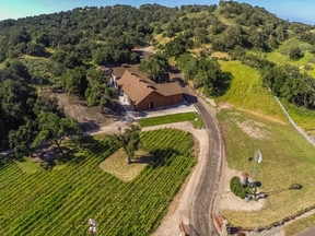 Foxen Canyon Trail CA Winery and Vineyard For Sale: $7,900,000