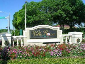 VillaRosa Villa Rosa Entrance Lutz FL