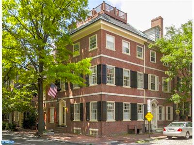 Townhomes for Sale in Society Hill Philadelphia 19106