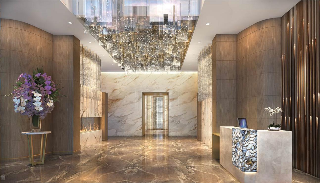The Laurel Rittenhouse Lobby