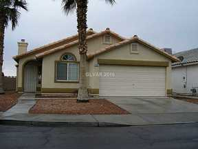 Las Vegas NV Single Family Home Sold: $182,000