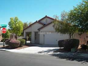 Las VEgas NV Single Family Home Sold: $211,000