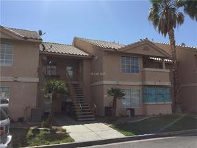 Las Vegas NV Condo/Townhouse Sold: $55,000
