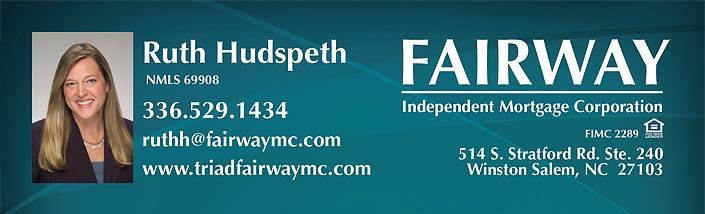Ruth Hudspeth - Fairway Independent Mortgage Corporation - Winston-Salem, NC
