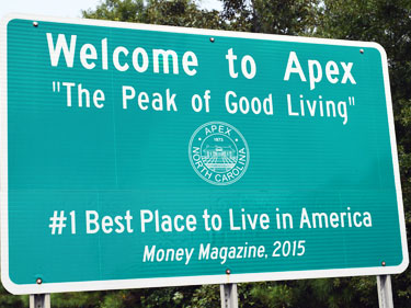 welcome to apex peak