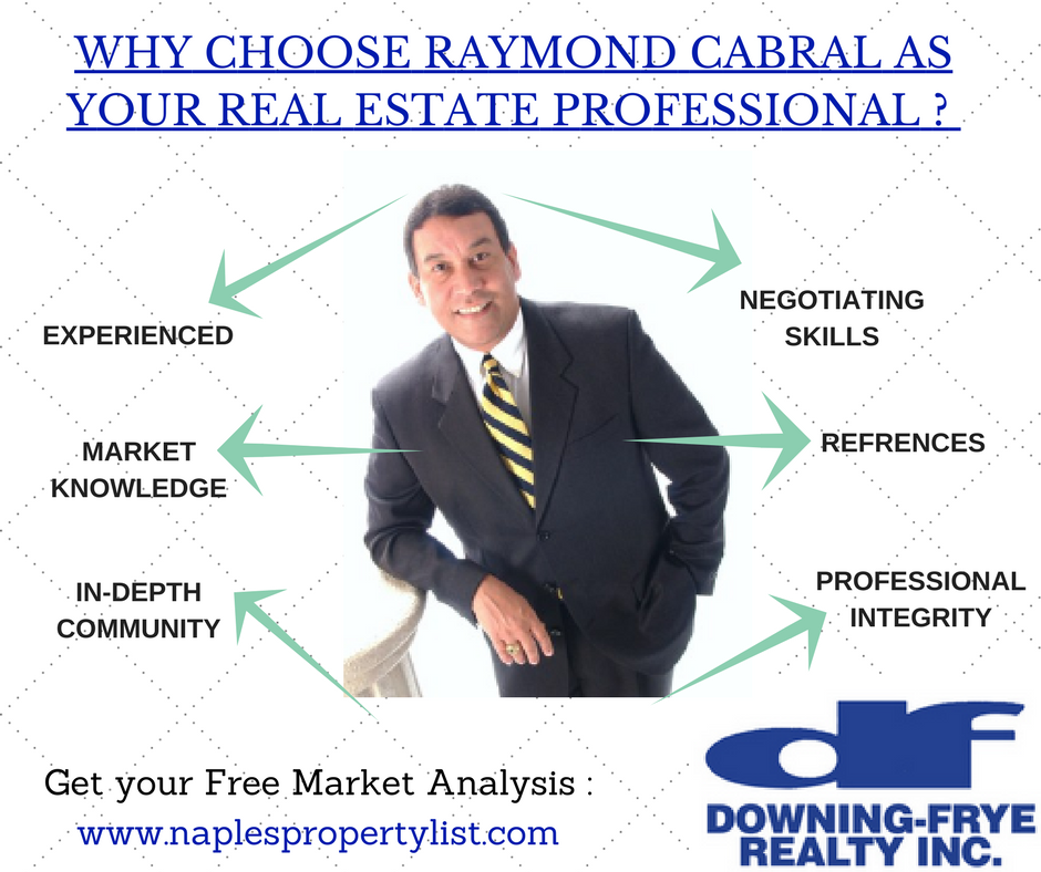 Why Choose Raymond Cabral As Your Real Estate Professional in Naples Florida