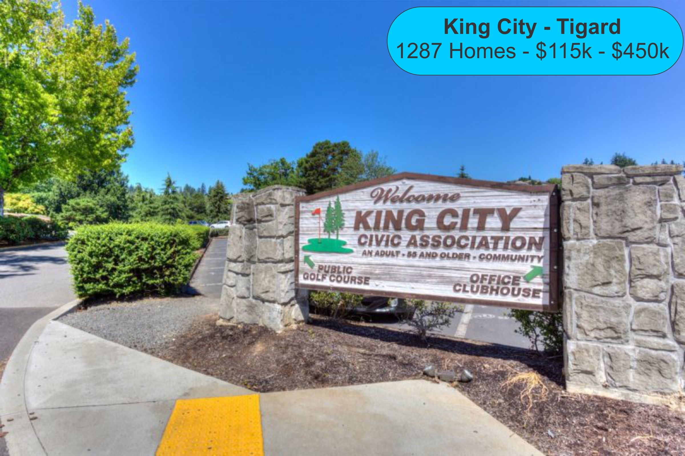 Homes for sale in King City Oregon