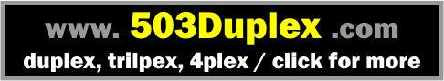 Duplex, Triplex & 4Plex in Portland Metro Area