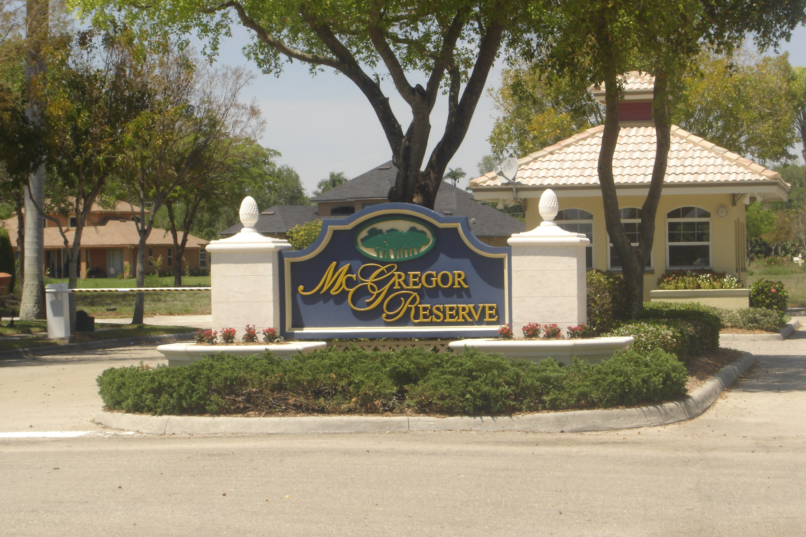 McGregor Reserve Homes for Sale in Fort Myers